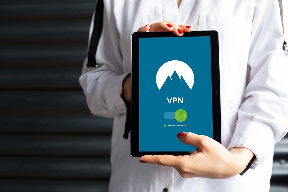 Utilize um aplicativo VPN